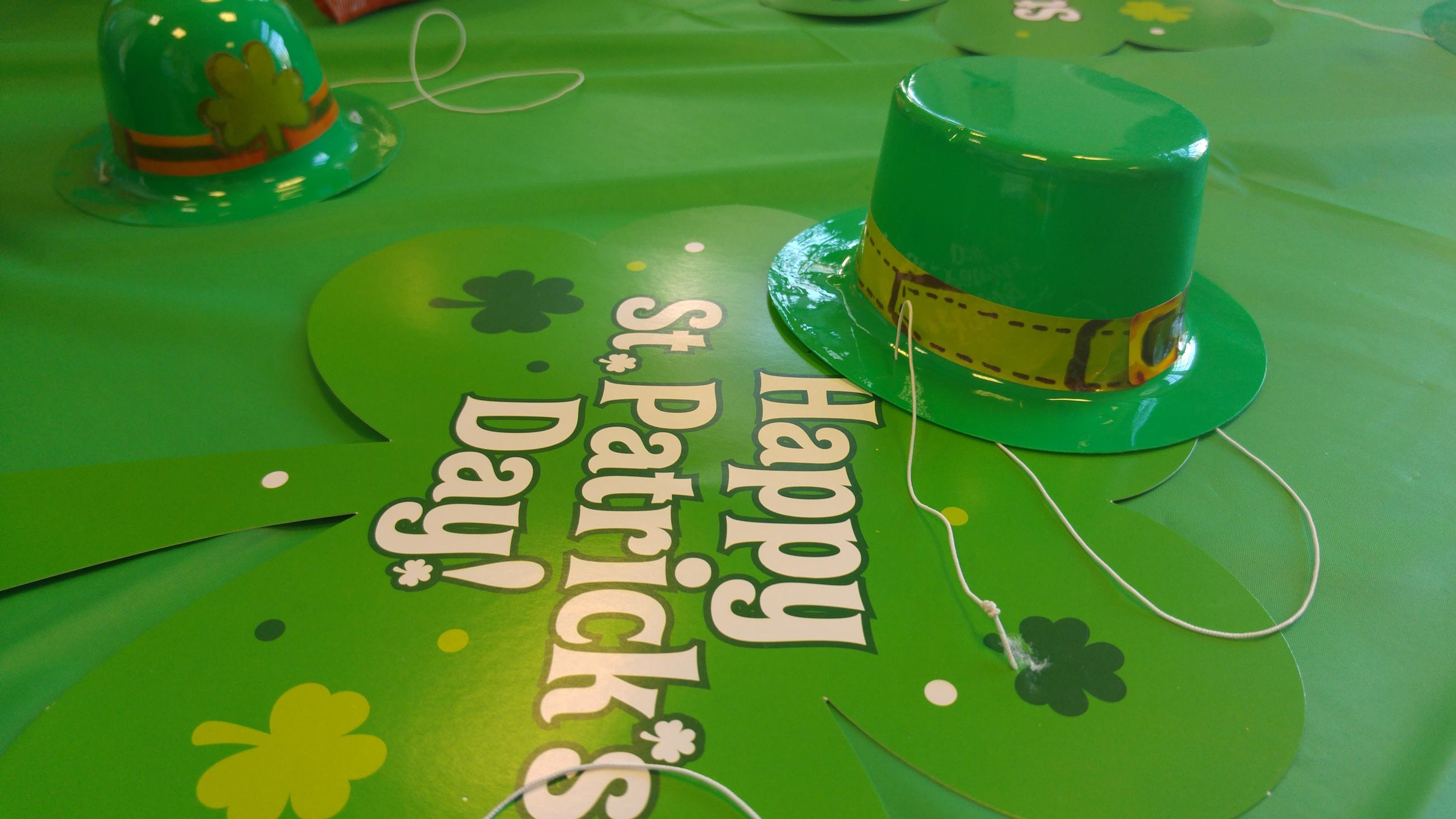 Lá Fhéile Pádraig – St.Patrick's Day!