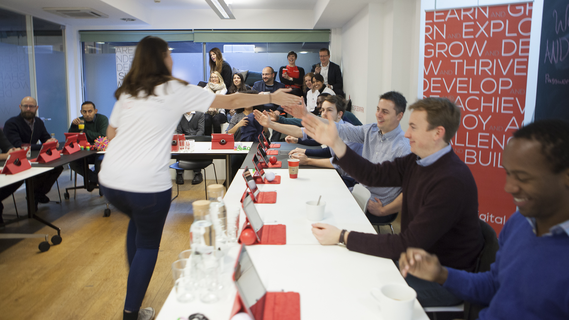 High Fives all around – AND Digital Named A Top 100 Digital Agency!