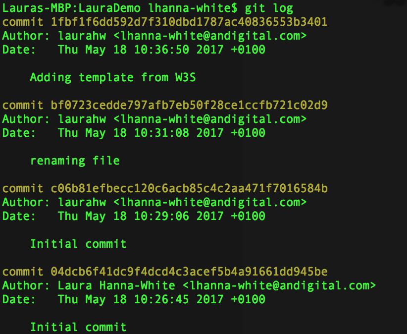 Git: Command Line Tricks